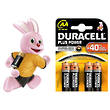 Duracell Plus Power Duralock AA Alkaline Batteries, 4-Pack - LR6 / MN1500