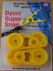 Byers Super Snap Reusable Grommets for Tarps - 077