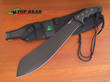 CRKT Halfachance Survival Parang Machete Carbon - K920KKP