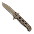 CRKT M16-14DSFG Special Forces Folding Knife - G10 Desert Tan