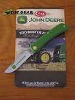 W.R. Case John Deere Sod Buster Jr Pocket Knife - 15737