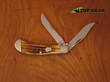 WR Case Saddlehorn Second Cut Pocket Knife - Bone Handle 25804