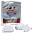 Celox First Aid Gauze Pad Coated with Celox Granules