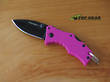 Cold Steel Mini Recon I Spear-Point Knife - Pink 27TDSP