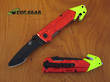 Colt Rescue Linerlock Knife - Red