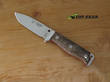 Cudeman MT-5 Survival Knife, Bohler N695 Stainless Steel, Wood Handle - 120G