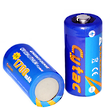 Cytac Energy-Dense CR123A Non-Rechargeable Lithium Battery - 3V 1700 mAh 2-Pack
