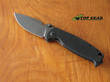 DPx Hest 2.0 Triple Black Framelock Folder - DPHSF105