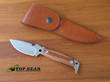 DPx Hest Woodsman Knife with Leather Sheath - DPHSX004