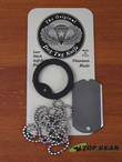 Dog Tag Titanium Last Ditch Self-Defense Knife - DT001 or DG001G