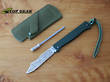 Douk-Douk Pocket Knife with Leather Sheath and Sharpening Steel - 815GMCOLG