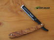 Dovo Shavette Replaceable Straight Razor, Olive Wood - 201071