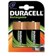 Duracell D - Size Rechargeable NiMH Lithium Battery 2200 mAh 1.2V