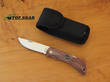 EKA Swede 10 Locking Knife with Wooden Handle - 606685