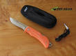 EKA Swede 8 Lockback Knife, Orange Handle - 765608