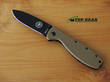 Esee Zancudo Framelock Knife - Coyote Brown with Black EDP Coating BRKR1CBB
