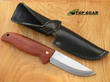 Eka Nordic A10 Fixed Blade Knife with Bubinga Wood Handle - 619509