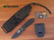 Esee 3 Knife with Molle Sheath System, Black - ESEE-3P-UC-MB