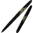 Fisher Space Pen Black Bullet Pen with Fisher Space Pen Logo - 400B/FSP