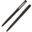 Fisher Space Pen Cap-O-Matic Pen Black Matte with Stainless Clip - M4B-CT