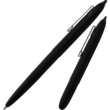 Fisher Space Pen Chrome Bullet Stylus with Clip - 400BCL/S Black Matte