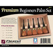 Flexcut Premium Beginners 5-Piece Palm Set - FRP310