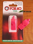 Fox 40 Pearl Pealess Safety Whistle - Pink 9702-0408