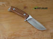 Fox Pro Hunter Hunting Knife, N690 Stainless Steel, Santos Wood - FX-131