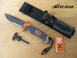 Gerber Bear Grylls Ultimate Fixed Blade Survival Knife, Serrated Edge - 31-000751