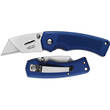 Gerber Edge TacHide Clip Folding Utility Knife, Blue TacHide Rubber Handle - 31-000669