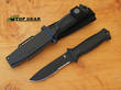 Gerber Strongarm Fixed Blade Survival Knife - Serrated Edge Black 30-001060