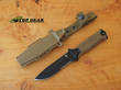 Gerber Strongarm Fixed Blade Tactical Knife - Coyote Brown 30-001059