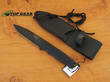 Joker Tactical Fixed Blade Knife - 440 Stainless Steel CF-02USA