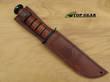 Ka-Bar Brown Leather Replacement Sheath for 7