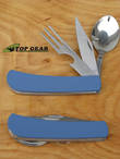Ka-Bar the Hobo 3-in-1 Utensil Kit - Blue KT01G