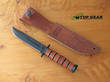 KA-Bar Short Clip-Point Fighting Knife - 1251