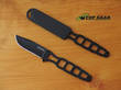 Ka-Bar Skeleton Fixed Blade Neck Knife - 1118BP