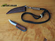 Kellam Mini Neck Knife, High Carbon Steel - HM391