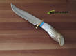 Ken Richardson 8 Inch Bowie Knife, High Carbon Steel - 1410T