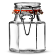Kilner Hexagonal Cliptop Spice Jar, 90 ml - 0025.488