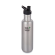 Klean Kanteen Classic Stainless Steel Bottle with Sports Cap, 800 ml Brushed Stainless K27CPPS-BS-A