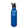 Klean Kanteen Classic Stainless Steel Bottle with Sports Cap 3.0-27 Oz-800 ml Blue Planet