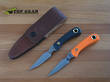 Knives of Alaska Cub Bear Caping Knife, D2 Steel - 6FG Black or 8FG Orange