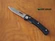 Knives of Alaska Featherlite Hunter Folding Knife, Black - 00900FG