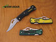 Lansky Small Lockback Pocket Knife - Green or Yellow