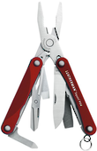 Leatherman Squirt PS4 Keyring Multitool, Red - 831189