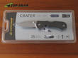 Leatherman Crater Knife - Plain or Serrated