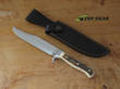Linder Bowie Knife with Staghorn Handle, 1.4034 Stainless Steel, Staghorn Handle - 169216