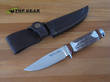Linder Mark 1 Hunting Knife with Staghorn Handle - 107512