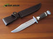 Linder Original Bowie Knife with Staghorn Handle, 17.5 cm - 196018